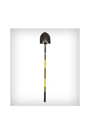 "Structron Round Point Shovel (48"" Fiberglass Handle)"