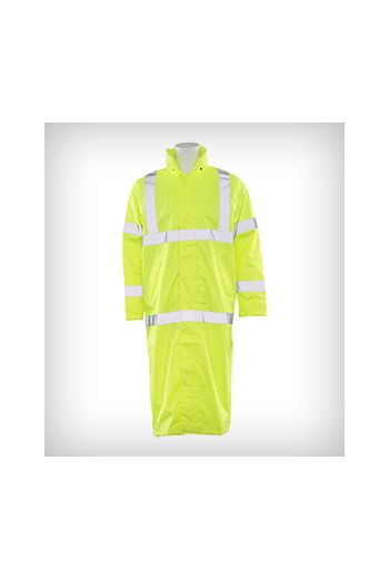 ANSI Class 3 Long Raincoat