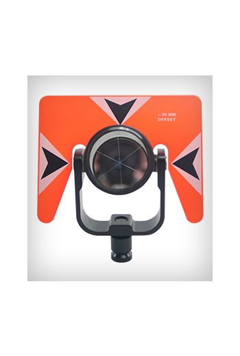 Sokkia Economy Rear Locking Prism Assembly (Florescent Orange)