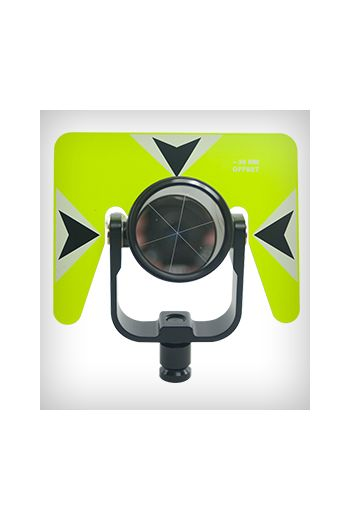 Sokkia Economy Rear Locking Prism Assembly (Florescent Yellow)