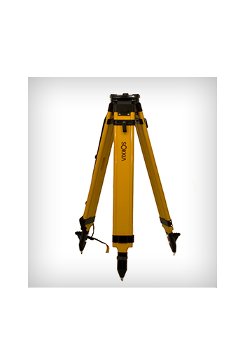 Sokkia Wood Fiberglass Tripod (Quick Clamp)