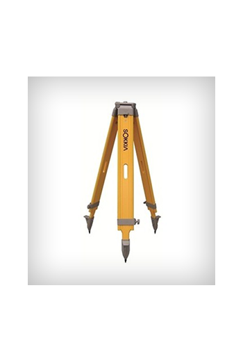 Sokkia Wood Wide Frame Tripod (Yellow)
