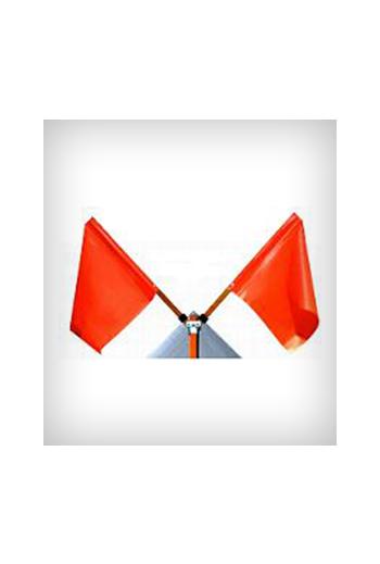 Folding Flag Assembly